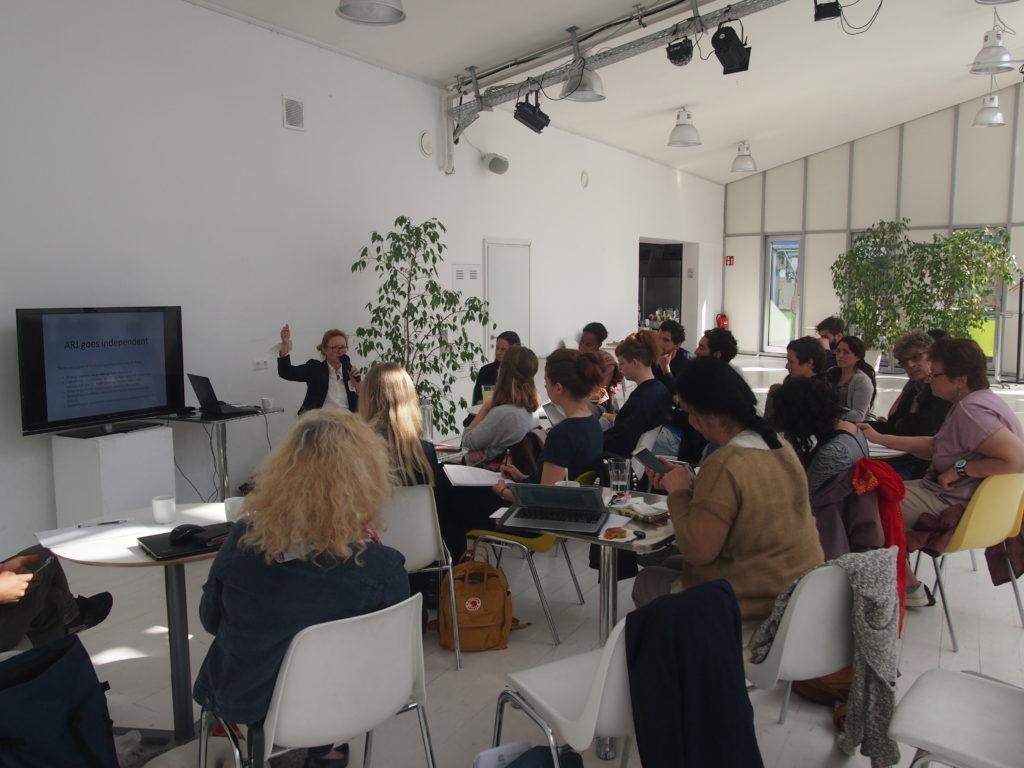 Lecture und Workshop: Arts, Rights & Justice in Österreich