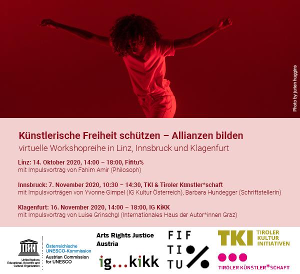 Workshopreihe: Künstlerische Freiheit schützen – Allianzen bilden